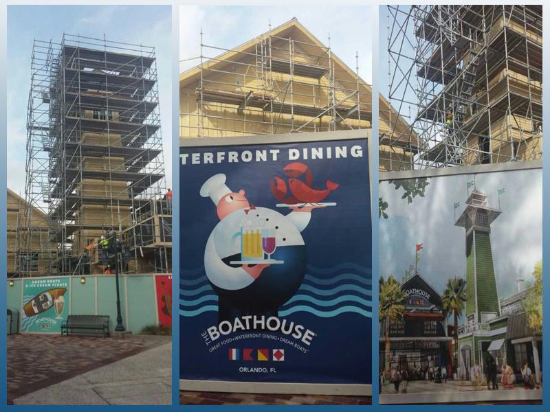 迪斯尼船屋餐厅项目进展情况